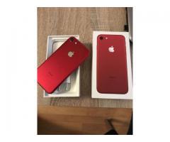 Apple iPhone 7 32GB Smartfon.€ 370/Apple IPhone 7 -(RED) 128GB..€ 400