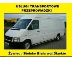 Usługi Transportowe Przeprowadzki Polska Austria Żywiec Wiedeń